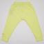 Pantaloni galben electric cu buzunar mare în față