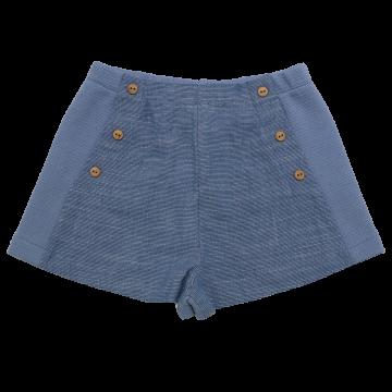 Pantaloni scurți bleu eleganți Zara 18-24 luni (2 ani, 92 cm)