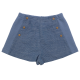 Pantaloni scurți bleu eleganți
