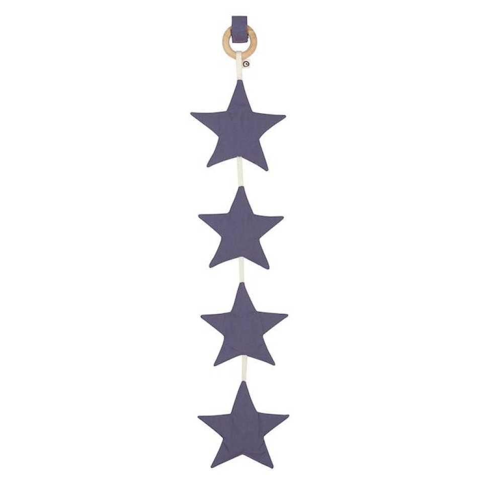 Accesoriu steluțe bleumarin pentru cărucior sau pătuț