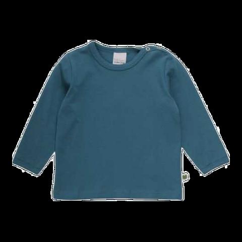 Bluză Alfa verde albastru cu mânecă lungă
