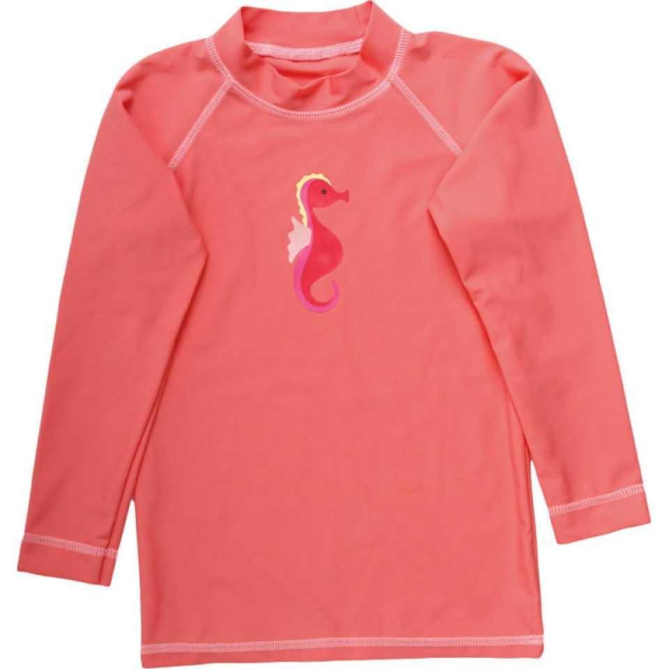 Bluză corai cu protecție UV pentru fete, UPF 50+