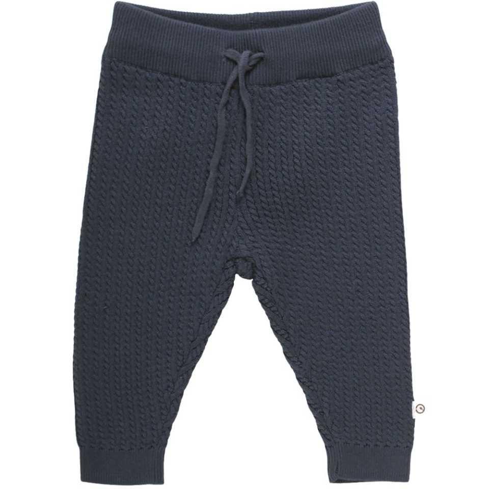 Pantaloni groși tricotați pentru copii