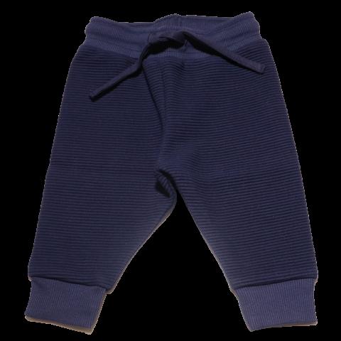 Pantaloni bleumarin din bumbac pentru copii