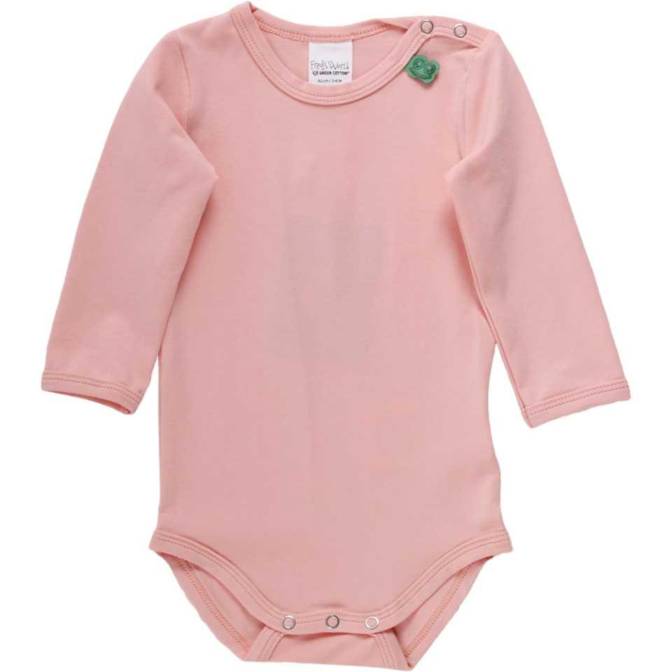 Body Alfa piersică din bumbac organic pentru bebeluși