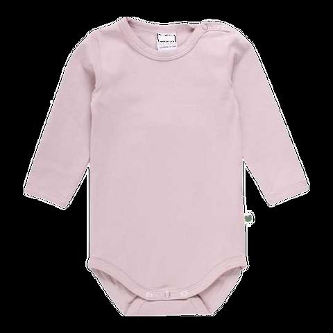 Body Alfa roz din bumbac organic pentru bebeluși