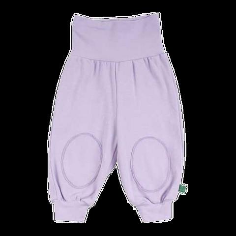 Pantaloni Alfa lila cu genunchi întăriți