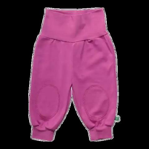 Pantaloni Alfa violet cu genunchi întăriți