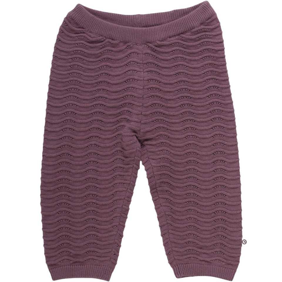 Pantaloni lungi tricotați