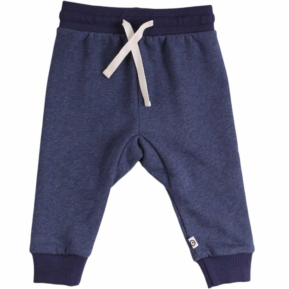 Pantaloni de trening bleumarin pentru copii
