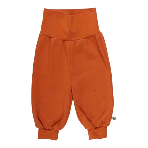 Pantaloni Alfa portocaliu aprins