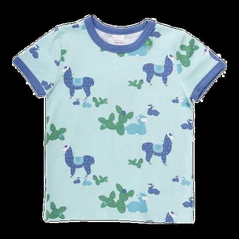 Tricou cu imprimeu lame