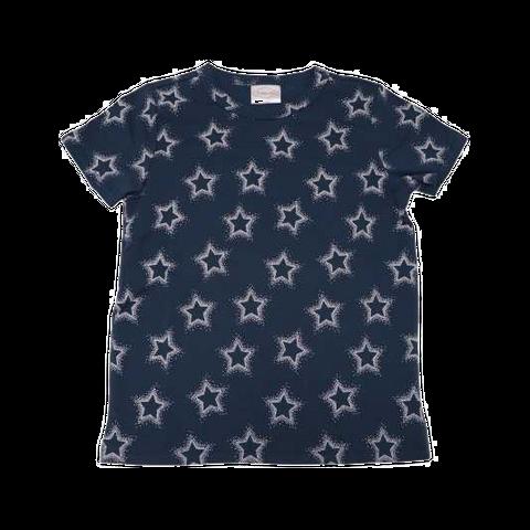 Tricou bleumarin cu imprimeu stele