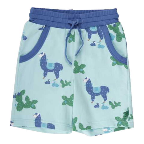 Pantaloni scurți cu imprimeu lame