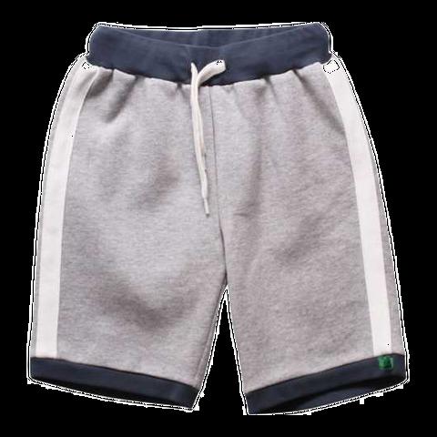 Pantaloni scurți gri din molton