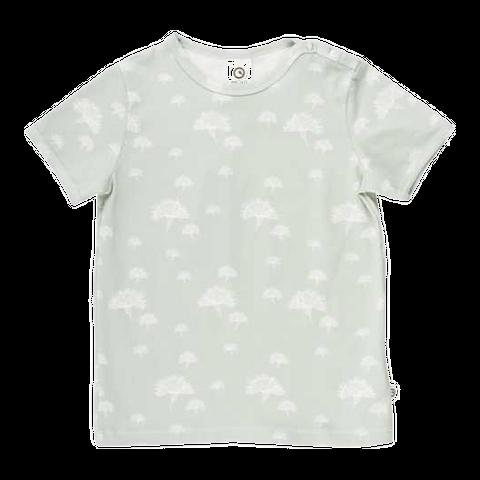 Tricou cu imprimeu floral pentru fete