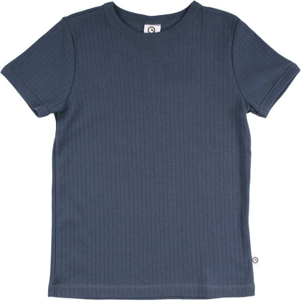 Tricou bleumarin cu dungi pentru băieți