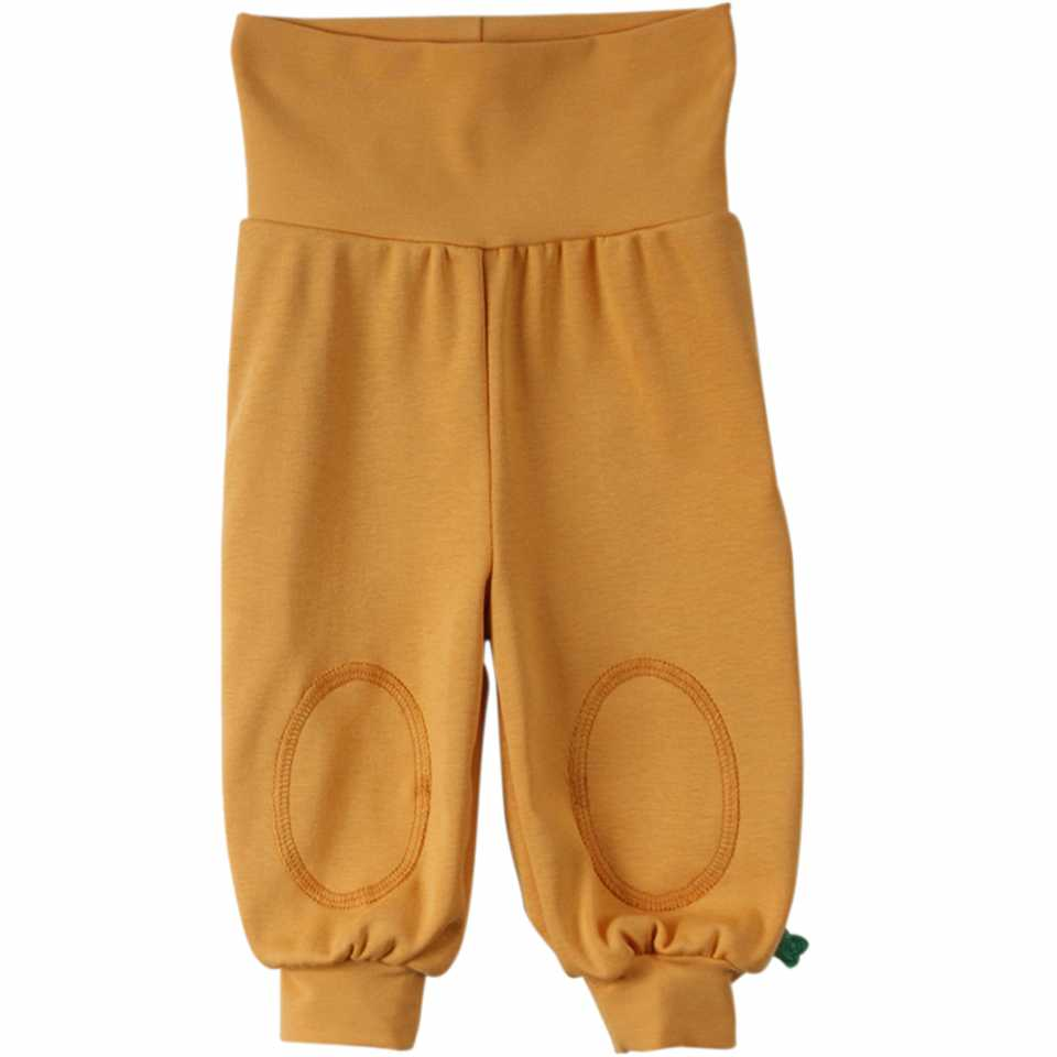 Pantaloni Alfa galben muștar