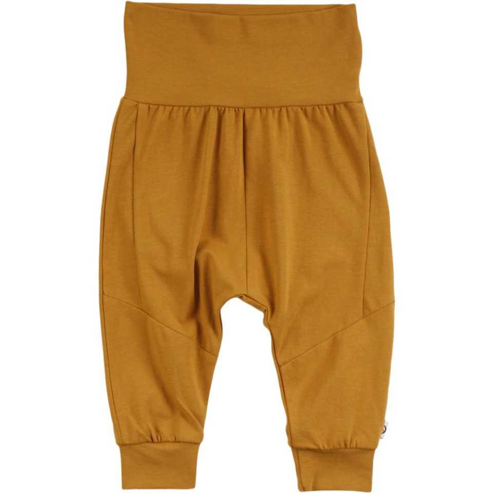 Pantaloni confortabili galben muștar