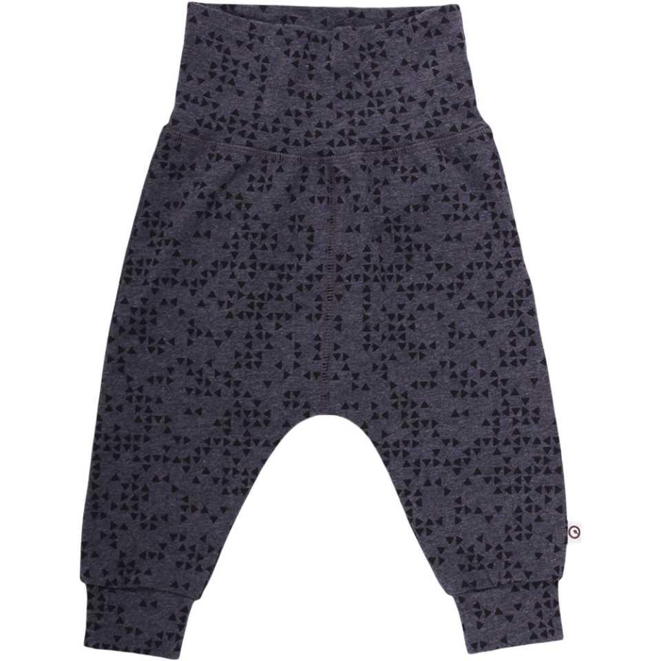 Pantaloni gri antracit cu bandă elastică