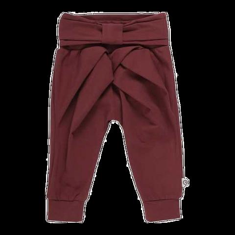 Pantaloni lejeri cu fundă