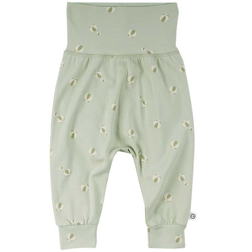 Pantaloni cu bandă elastică și manșete