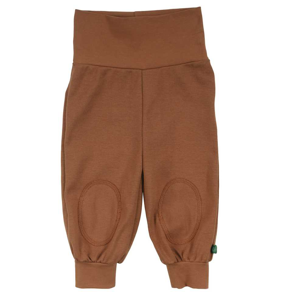 Pantaloni Alfa maro cu bandă elastică