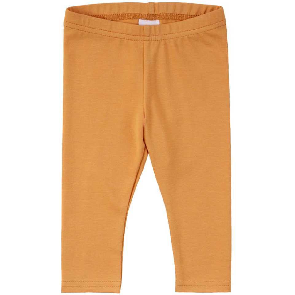 Colanți lungi portocaliu deschis pentru copii