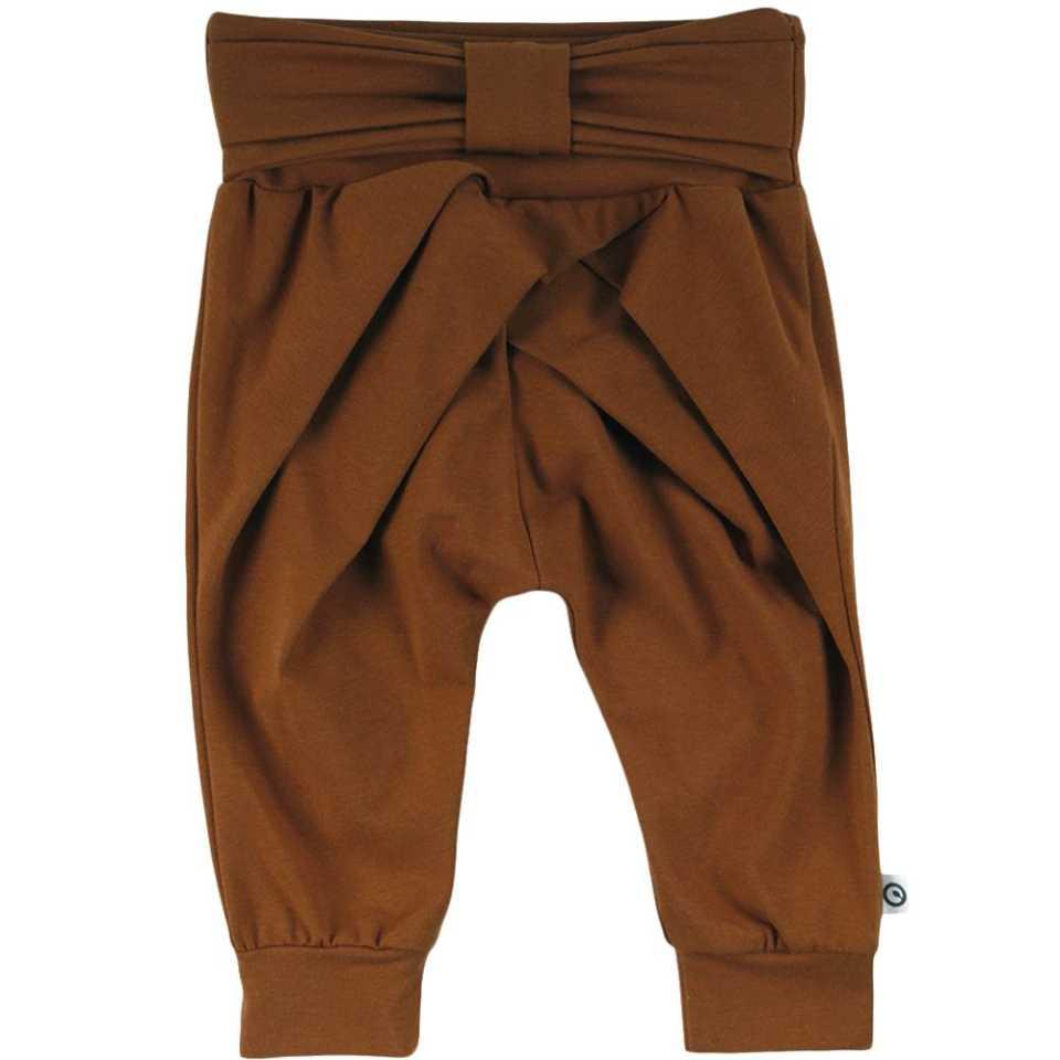 Pantaloni Cozy Me cu fundă