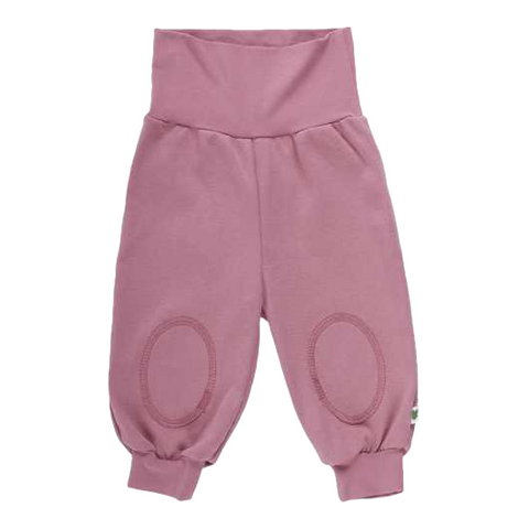 Pantaloni Alfa roz cu genunchi întăriți
