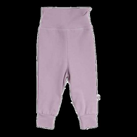 Pantaloni lila Mini Me