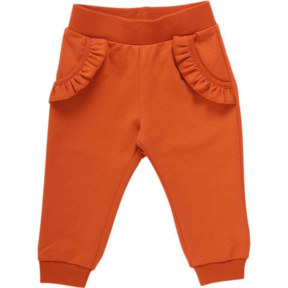 Pantaloni cu buzunare volănate