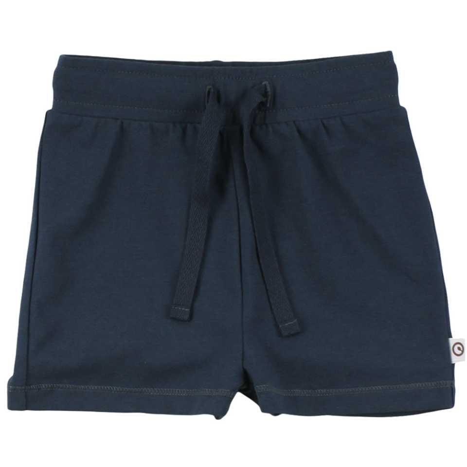 Pantaloni scurți bleumarin cu șiret în talie