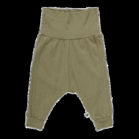 Pantaloni Alfa cu dungi cusute lateral și bandă elastică în talie