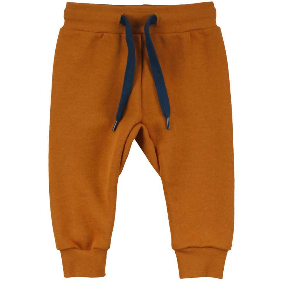 Pantaloni de trening Caramel din bumbac organic
