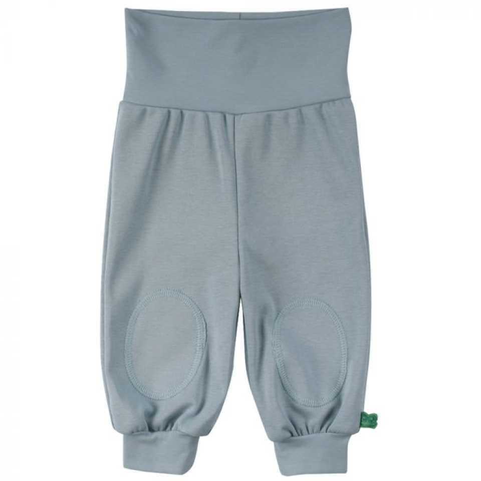 Pantaloni Alfa bleu prăfuit cu genunchi întăriți