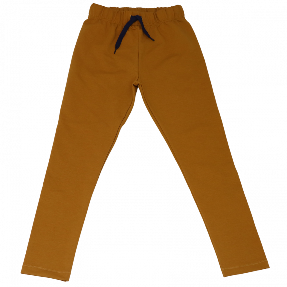 Pantaloni de trening subțiri din bumbac