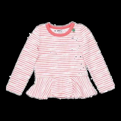 Bluză pentru fetițe cu peplum