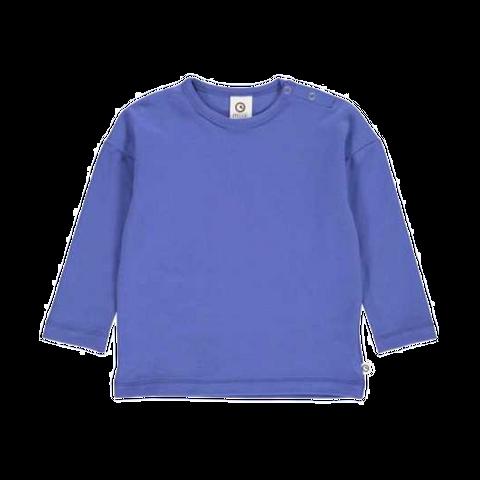 Bluză albastră cu mânecă lungă pentru copii