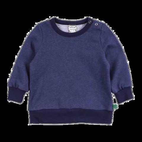 Bluză de trening uni bleumarin