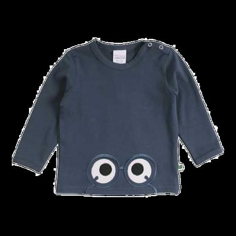 Bluză Alfa cu imprimeu cusut ochi cu ochelari