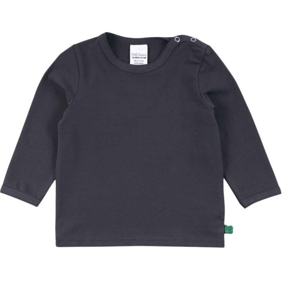 Bluză Alfa gri închis cu mânecă lungă