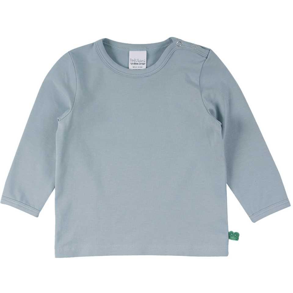 Bluză Alfa verde prăfuit pentru copii