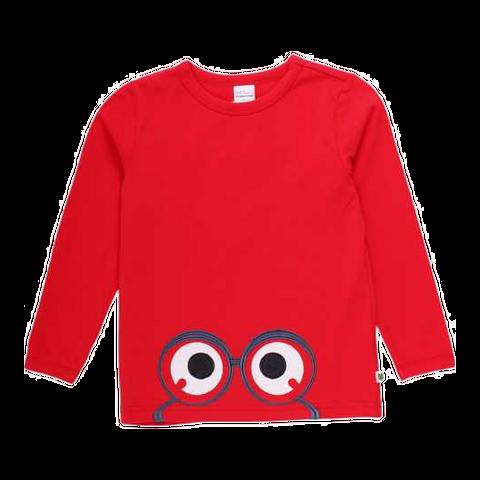 Bluză Alfa cu imprimeu cusut