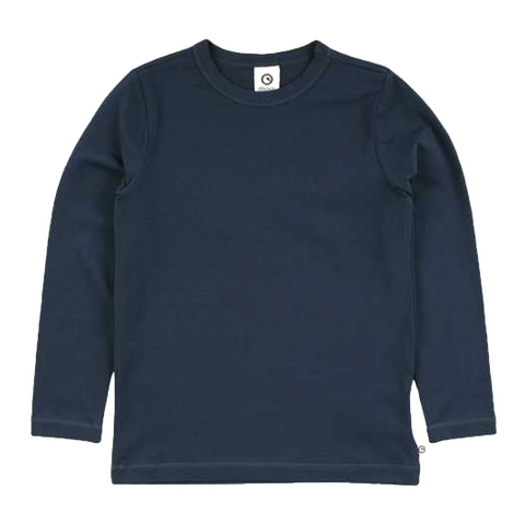 Bluză Cozy Me uni bleumarin
