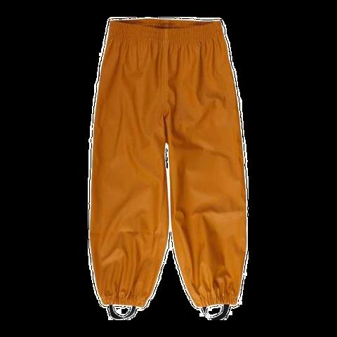 Pantaloni de ploaie Caramel cu stele reflectorizante pe spate