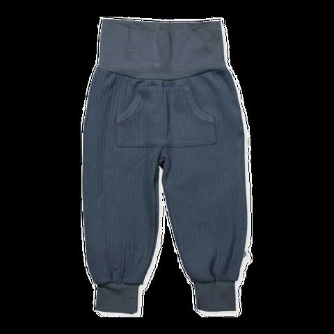 Pantaloni cu bandă elastică și buzunar central