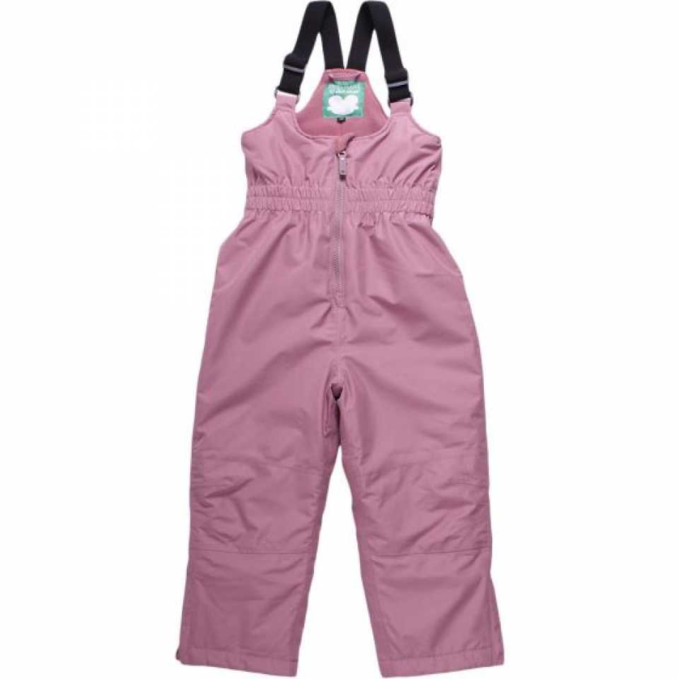 Pantaloni roz pal impermeabili pentru ski și zăpadă