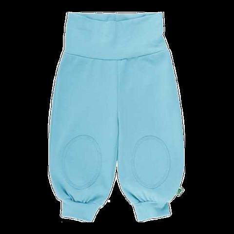 Pantaloni Alfa turcoaz cu genunchi întăriți