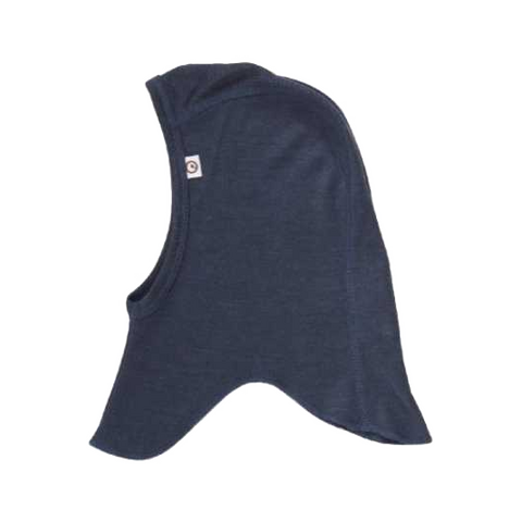 Cagulă bleumarin din lână și mătase